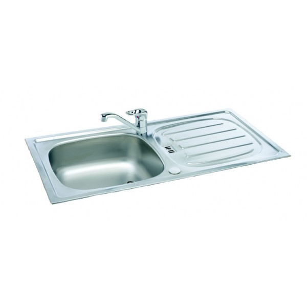 Kitchen Sink Phoenix : Carron Phoenix Euroset Stainless Steel Inset Reversible Kitchen Sink